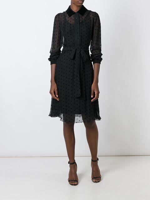 Прозрачная рубашка платье
