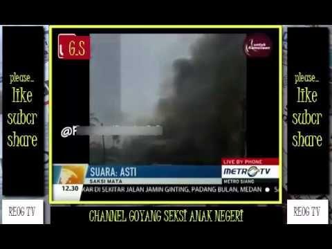 Detik Detik Pesawat Hercules TNI Jatuh Di Padang Bulan Medan | Berita Te...