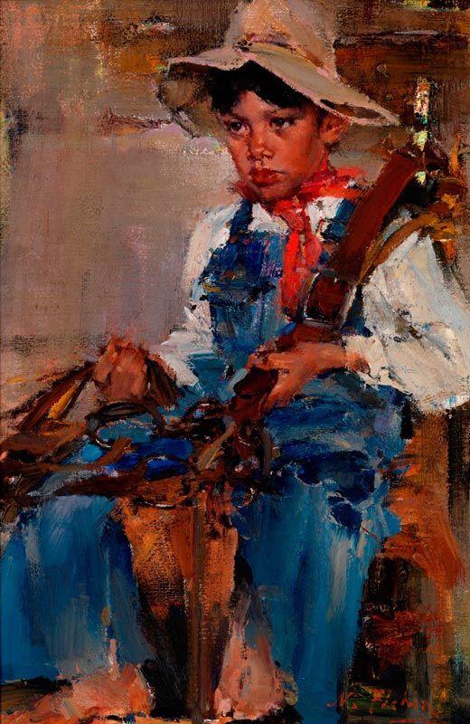 Николай Фешин - Маленький ковбой