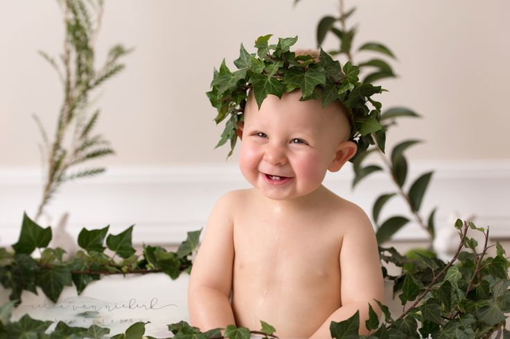 The best way to end a cookie smash session...? A milkbath of course! You can see the enjoyment on his face. Greenery & Décor Styling - Pronkertjie Flower & Décor Styling Photographer - Celia van Niekerk Photography