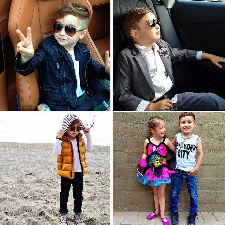 """Новый законодатель моды в соцсетях: """"Я хочу одеваться, как мой папа, потому что он крутой"""""""