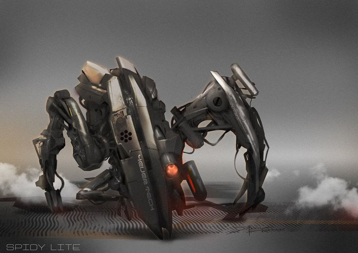 Spidy Robot by TheRafa.deviantart.com on @deviantART