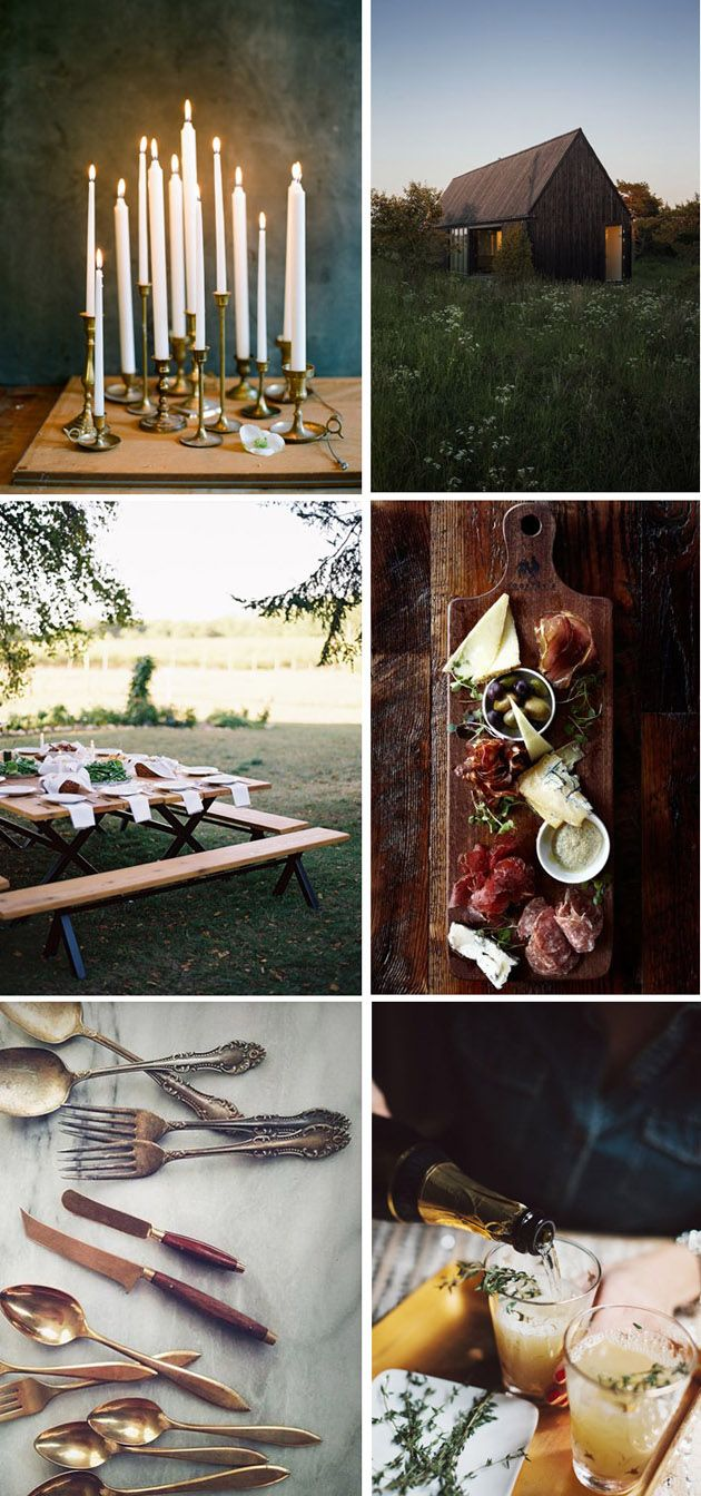 fall dinner party ideas inspiration board