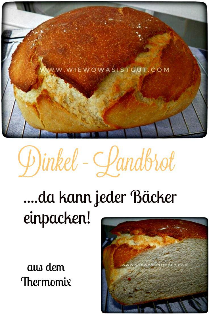 Dinkel Lanbrot...da kann der Bäcker einpacken.