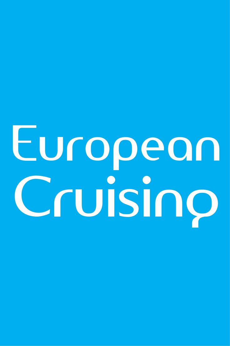 EUROPEAN CRUISING // Find ideas and tips to help plan your river or ocean cruise vacation in Europe.