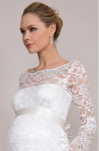Nice pretty pregnant lace dress