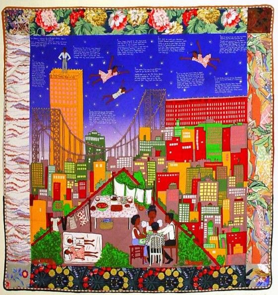 Faith Ringgold; Tar Beach Quilt