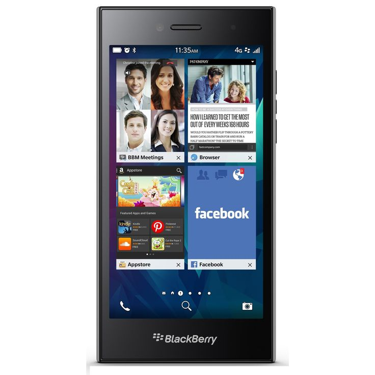 Berry Leap STR100-2 16GB Unlocked GSM 4G LTE Cell Phone - Shadow Grey #STR100-2 BLK