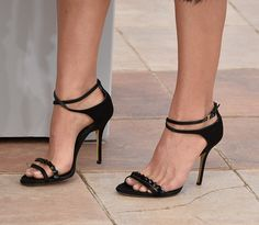 Natalie Portman's shoes at the 'A Tale Of Love And Darkness' Photocall during the 68th annual Cannes Film Festival on May 17, 2015 in Cannes, France.
