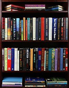 Boxed Mass Market Paperbacks - Books by the Foot   This is kind of amazing. It's a huge grab bag full of books!