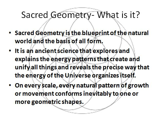 Sacred Geometry: What is it?