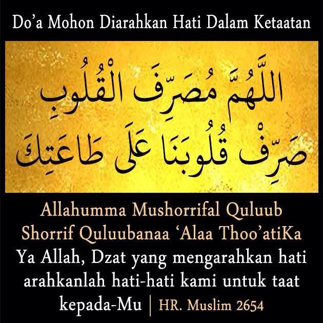 Doa utk selalu taat dalam agama Islam