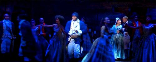 FLower Girl Hercules Mulligan. CUrrently the best GIF of Hamilton. | Tumblr