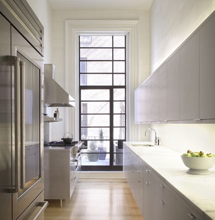 60 Best Images About Galley Kitchen Design Ideas On