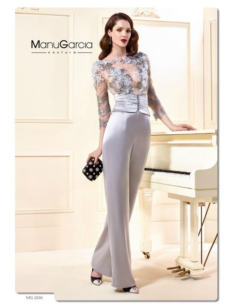 Tu vestido de fiesta en color plata by Manu García costura