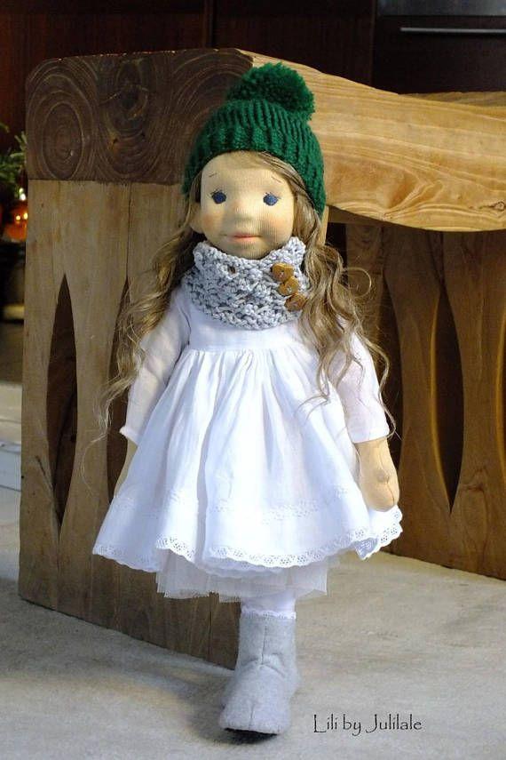 Lili Waldorf inspired doll 157540cm