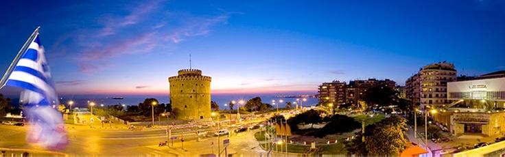 The white Tower -Ottoman monument        (Thessaloniki- Greece) via www.Thessaloniki.com