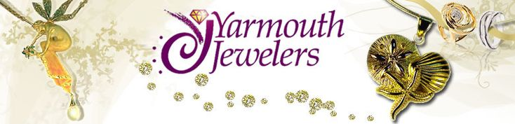 Yarmouth Jewelers -  located at 1086 Route 28 in South Yarmouth, next to the Registry of Motor Vehicles.  Offering a wide variety of jewelry- there is sure to be something for everyone!  Also provide jewelry repairs and design.  http://yarmouthjewelers.com/  A valued member of the Yarmouth Chamber of Commerce: www.yarmouthcapec...
