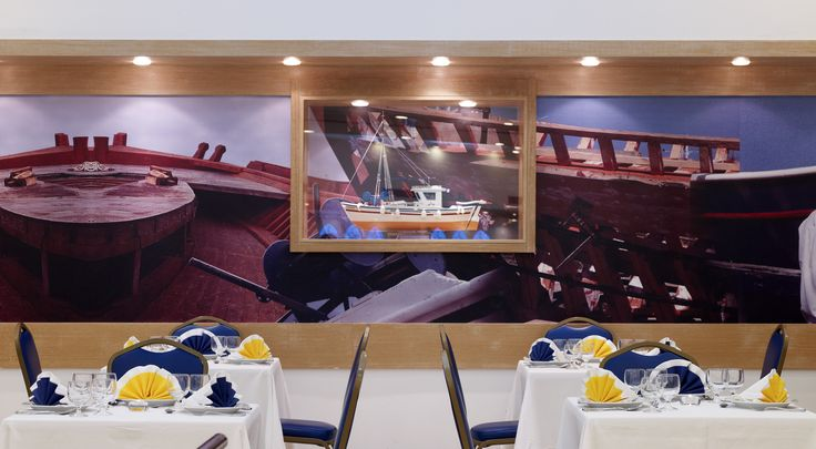 Diana, the main restaurant of Esperides Beach Family Resort