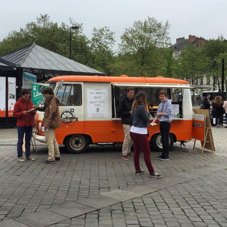 #foodTruck orangeade mécanique de l'école D'architecture #ENSA #Nantes