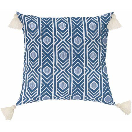 Better Homes and Gardens Aztec Decorative Pillow with Embroidery and Stylish…