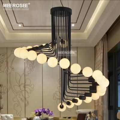 2017 New Modern Chandeliers Lighting Fixture Creative Metal Lustres Hanging Suspendu Lamp For Dining Room Home