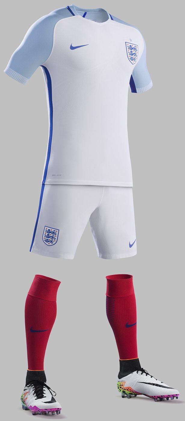 Nike divulga as novas camisas da Inglaterra - Show de Camisas
