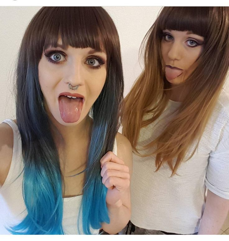 Love this @vdw_lea And her sis in Blue Moon and Autumn Oak  #lushwigs #ombrehair #ombrewig #ombre #lushwig #hairtrends #gorgeous #alternativehair Both available now from: Lushwigs.com  #lushwigsbluemoon #lushwigsautumnoak #lushhair #bayalage #hairtrends2016 #hairspiration (link in bio)