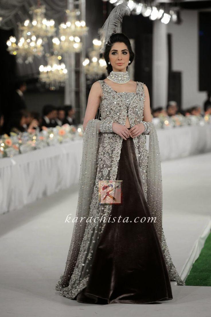 Black Pakistani Wedding Dresses Pin by Pamelama...