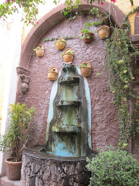 An Old Fountain In Mexico Enchanting South Of The