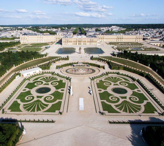 17 meilleures images propos de jardins la fran aise for Perspective jardin 78
