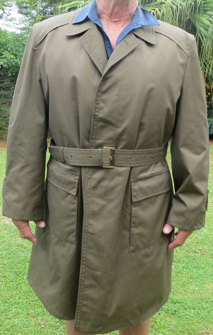 A Westbury design heavy all weather trench coat with a removable wool lining. A solid jacket, neat design, stylish and functional