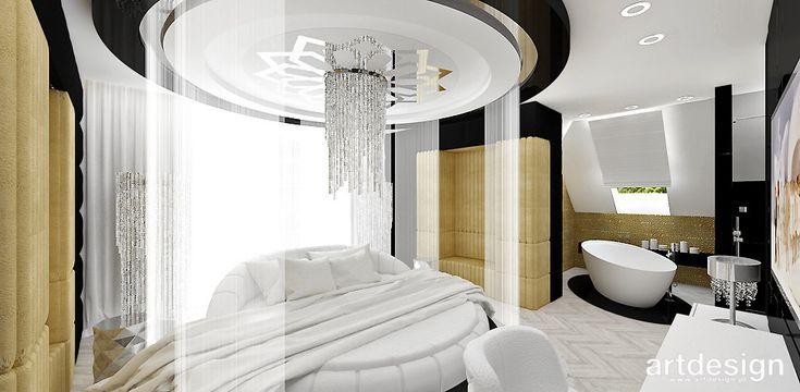 HAPPY HOUR | Wnętrza domu | luksusowa sypialnia z łazienką