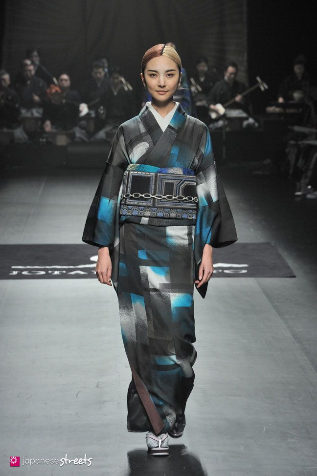 140319-7672 - Autumn/Winter 2014 Collection of Japanese fashion brand JOTARO SAITO on March 19, 2014, in Tokyo.