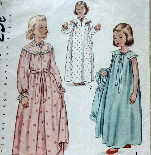 Remarkable vintage nightdress pattern apologise, but
