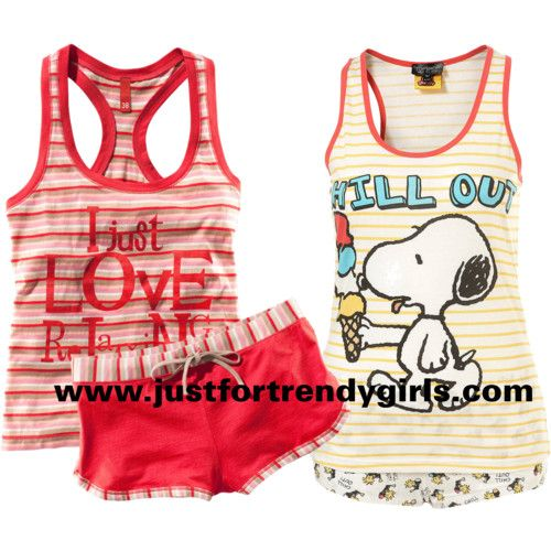 Funny summer pajamas for girls