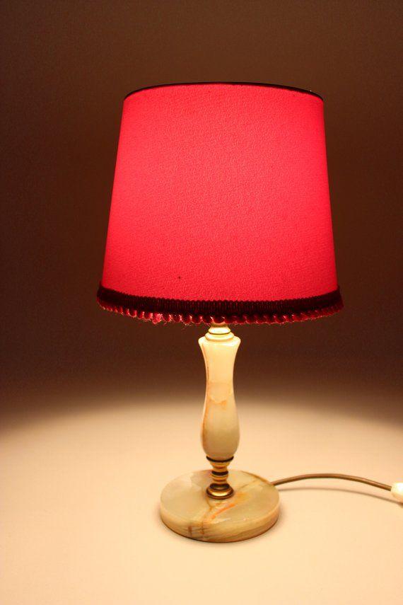 Dein Marktplatz Um Handgemachtes Zu Kaufen Und Verkaufen Vintage Lamps Small Floor Lamps Bedside Lamp