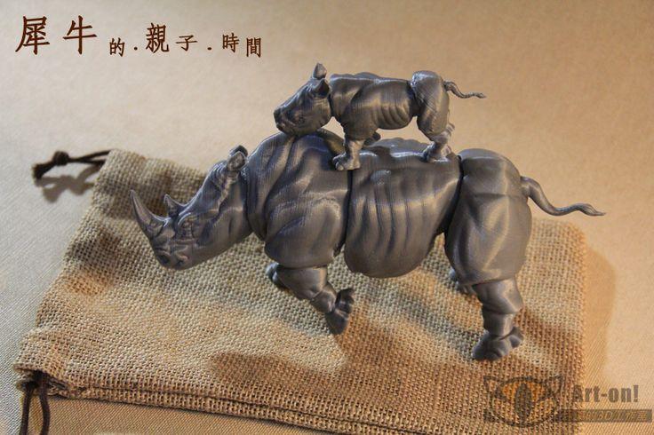 My 3d printer Art Work Rhino $40 USD www.facebook.com/Arton3D