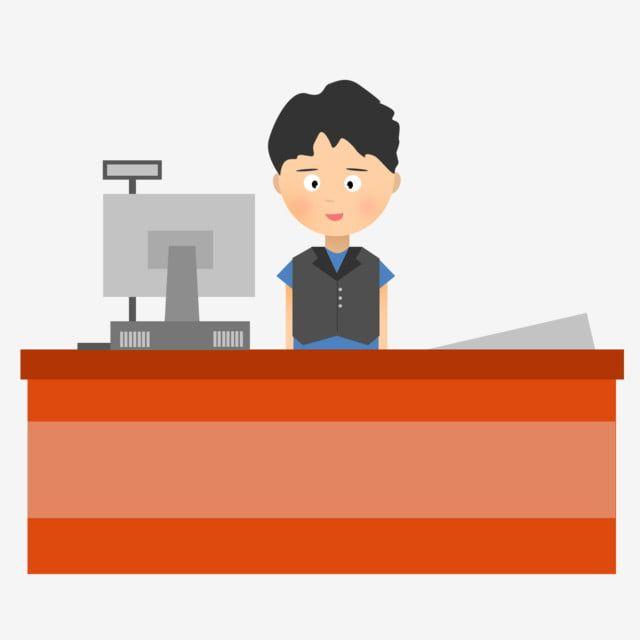 En El Trabajo Cajero Personajes De Dibujos Animados Planos Trabajo Descarga Gente En El Trabajo De Supermercado Png Y Psd Para Descargar Gratis Pngtree Cartoon Background Banner Cartoon Styles