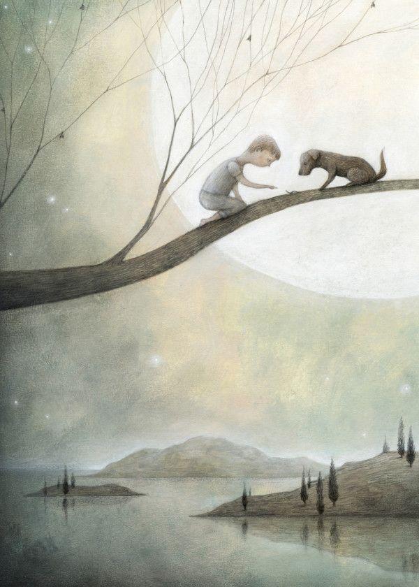 best friends and the moon by Francesca Dafne Vignaga | metal