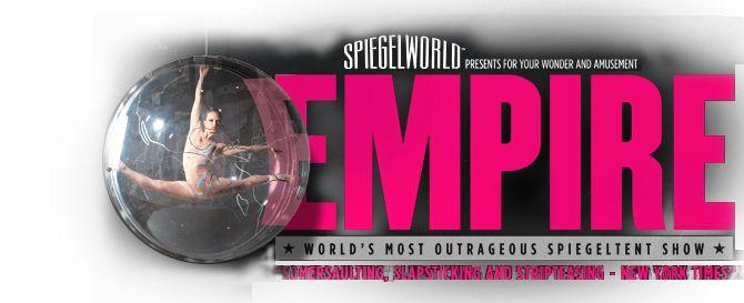 Spiegelworld presents Empire Australia | Home