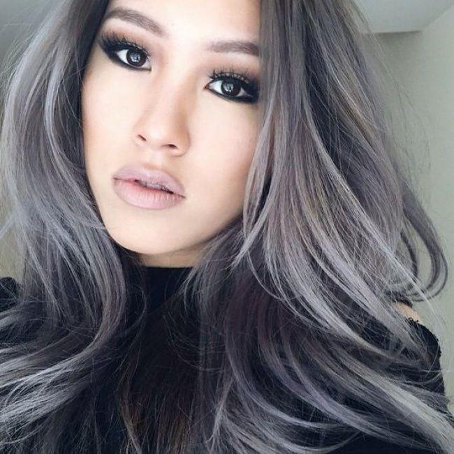 coloration gris couleur grise couleur cheveux delire cheuveux gris maquillages coiffures toutes ongles - Coloration Grise