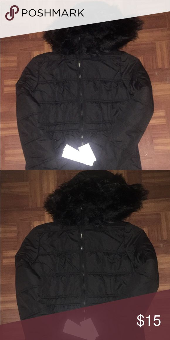 Children's Fur Coat Black girls faux fur coat. Krush Jackets & Coats Puffers
