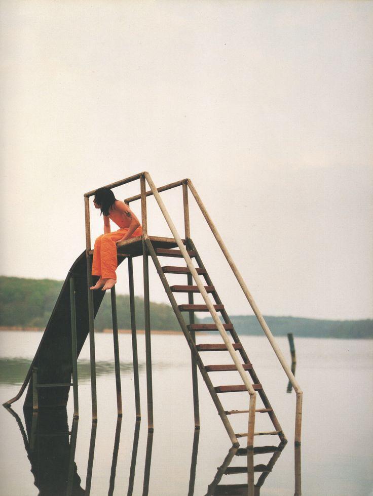 """h-inoki: """"David Sims for Yohji Yamamoto, 1990 """""""