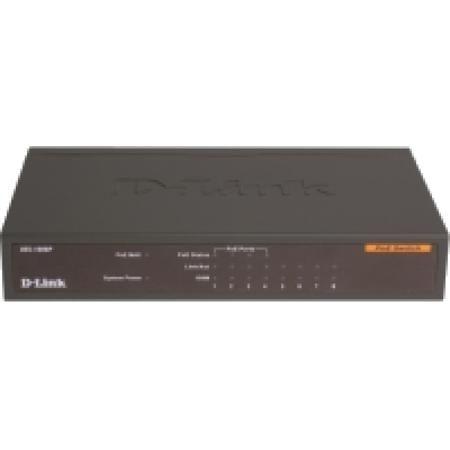 D-Link DES-1008P  — 3169 руб. —  8-портовый настольный коммутатор DES-1008P D-Link с 4 портами РоЕ позволяет домашним и офисным пользователям легко подключать и подавать питание по Power over Ethernet (PoE) на устройства, такие как беспроводные точки доступа (АР), IP-камеры и IP-телефоны, а также подключать к сети другие Ethernet-устройства (компьютеры, принтеры, NAS). Разработанный специально для домашних пользователей и малого бизнеса, этот компактный коммутатор РоЕ работает почти…