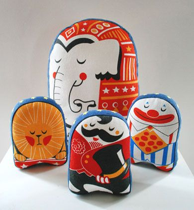 elephant plush for children by Stuf circus collection