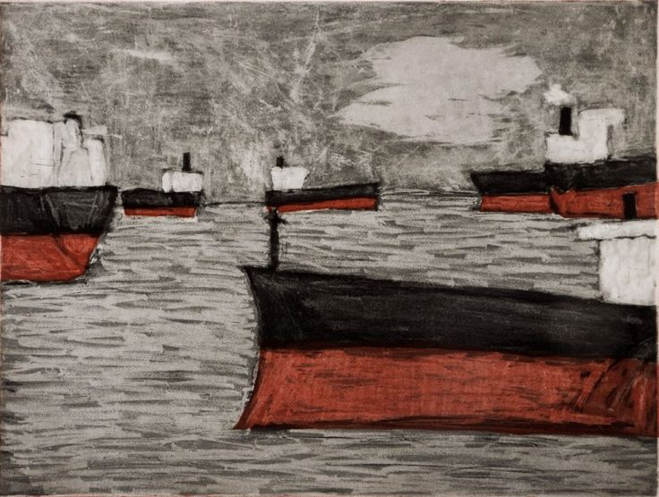 Seven Ships, Newcastle, 2007  Artist: Julian Twigg  Medium: Colour etching  Dimensions: 25 x 33 cm  Edition: 20