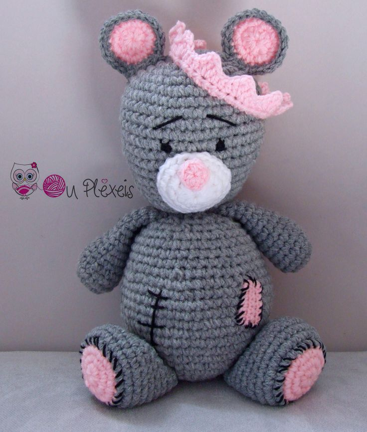 Teddy Bear Amigurumi, Crochet Bear Stuffed Animal, Kids Toy, Nursery Toy, Teddy Bear Plush Amigurumi Crochet Stuffed Animal, Baby Toy, by Ouplexeis on Etsy