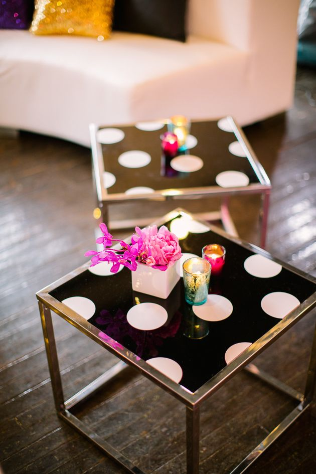 Colorful Kate Spade Inspired NYE Ideas - All Occasions Party Rental - Marbella Event Furniture and Decor Rental