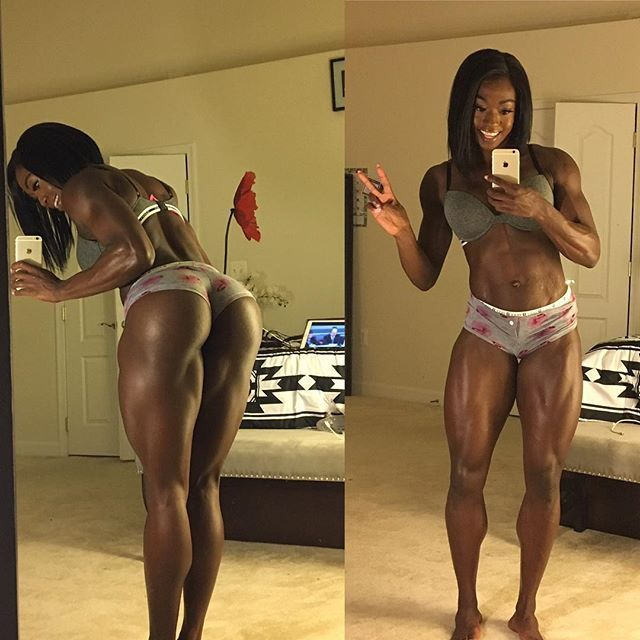 Very Black girls sexy workout message